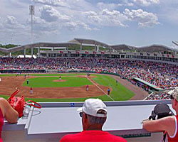 New York Yankees at Boston Red Sox Spring Training